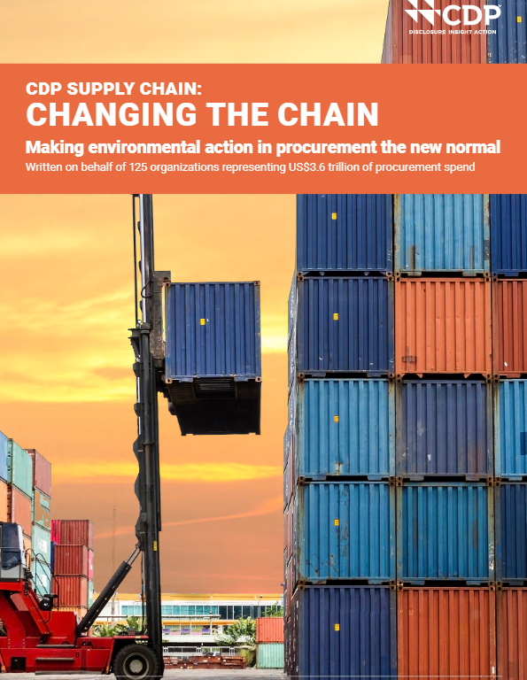 CDP Supply Chain: Changing the Chain