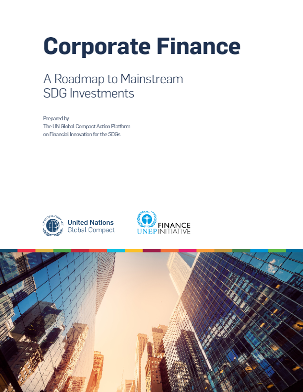Corporate Finance - A Roadmap to Mianstream SDG Investments